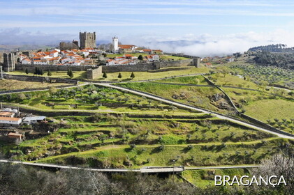 Bragança:. Nort of Portugal