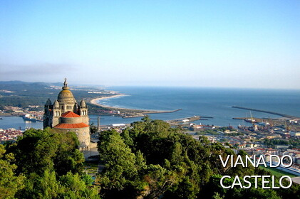 VIANA CASTLE:. Nort of Portugal