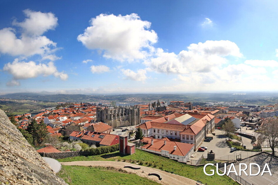 Guarda, cidade do centro de Portugal